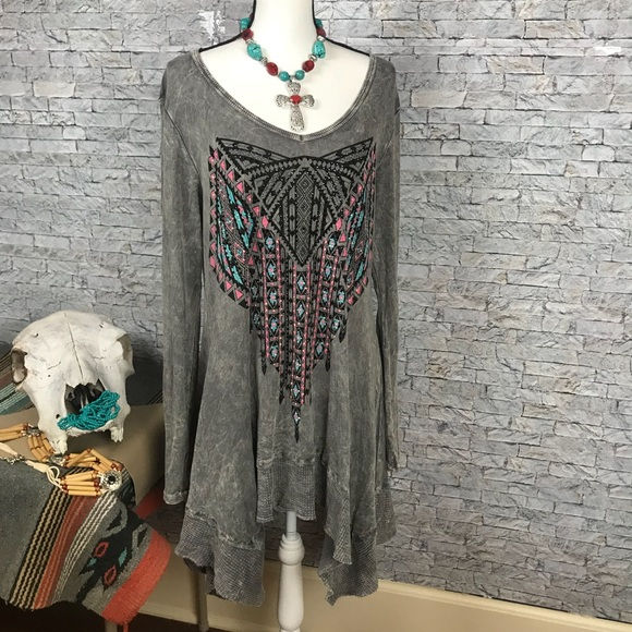 Vocal XL Vintage Style Long Sleeve Dress